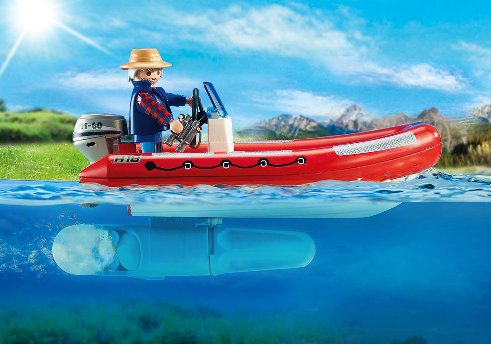 5559 Inflatable Boat with Explorers zoom image4