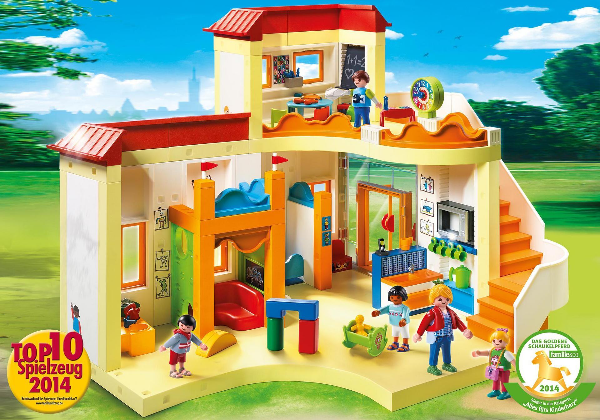 Playmobil Ausmalbilder Kita : Kita Sonnenschein 5567 Playmobil Deutschland