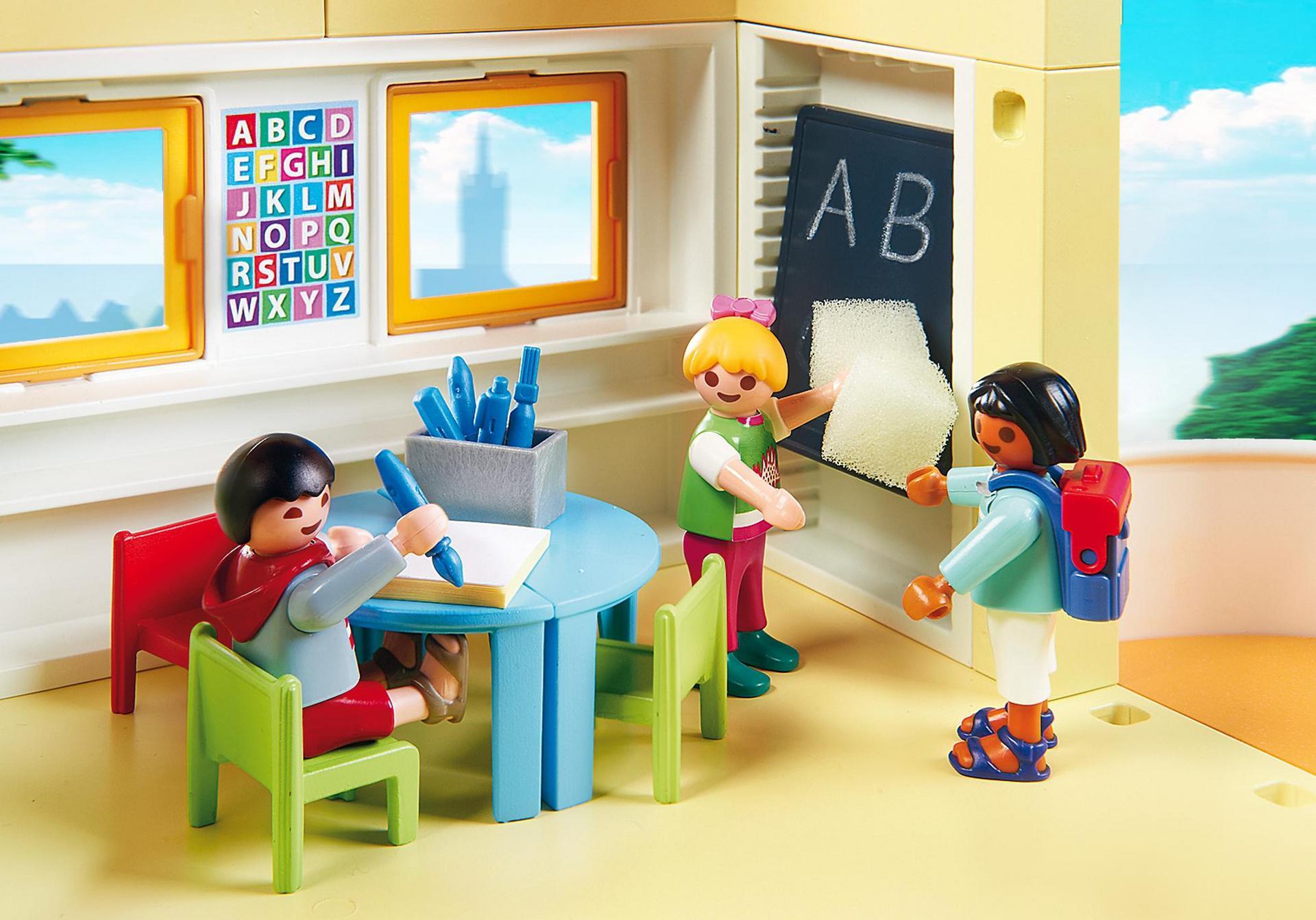 Ausmalbilder Playmobil Kindergarten : Kita Sonnenschein 5567 Playmobil Deutschland