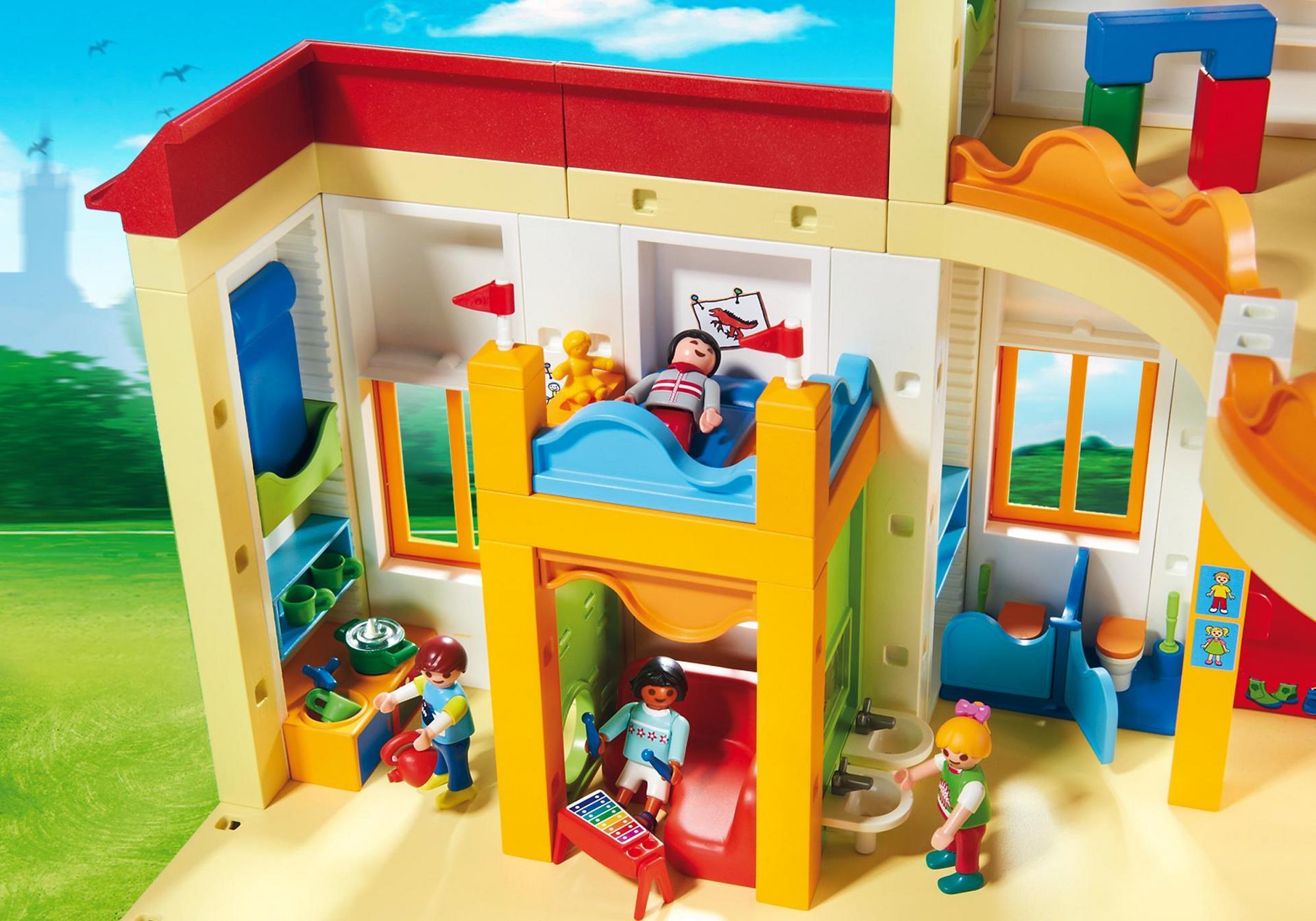 Playmobil Ausmalbilder Shopping Center : Kita Sonnenschein 5567 Playmobil Deutschland