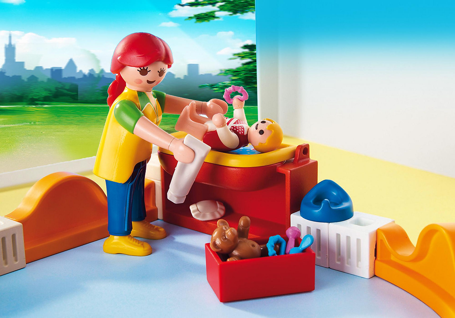 http://media.playmobil.com/i/playmobil/5570_product_extra1/Espace crèche avec bébés