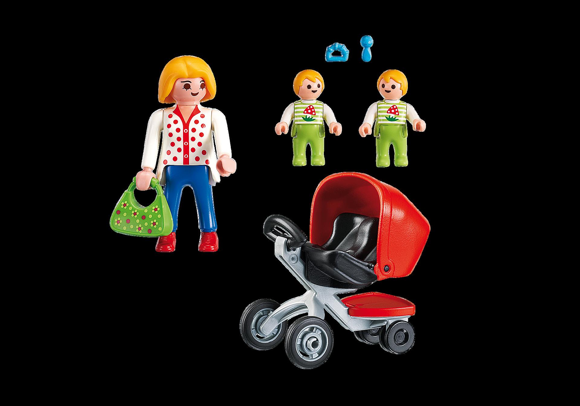 5573 Mamma med tvillingvagn zoom image3