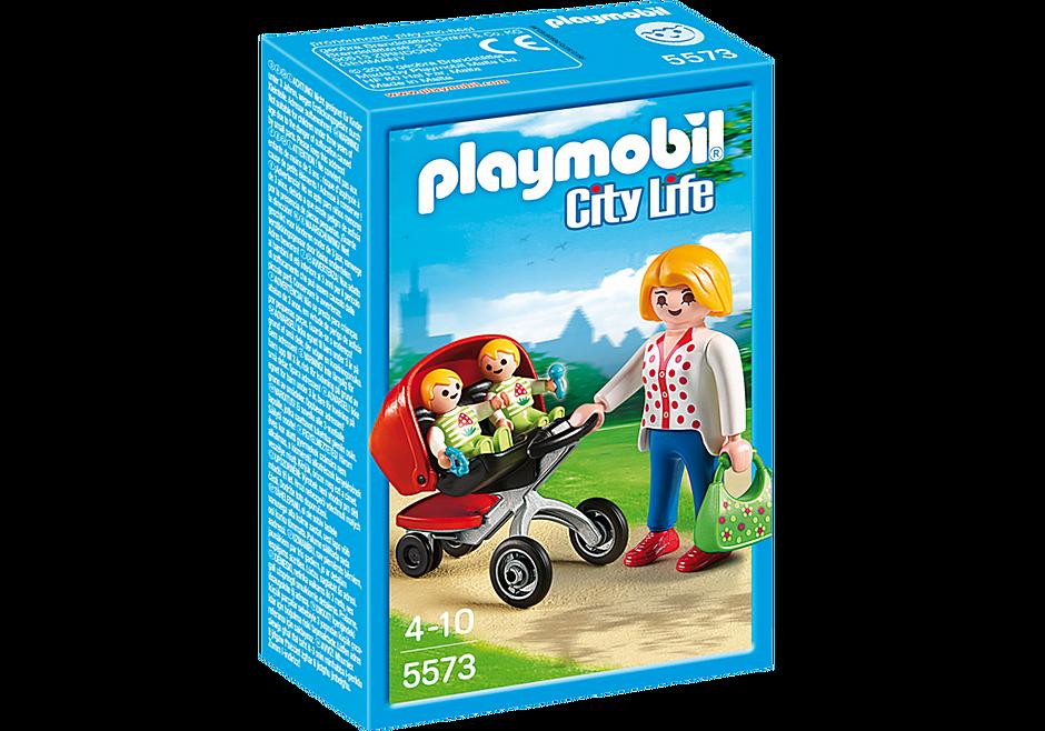 http://media.playmobil.com/i/playmobil/5573_product_box_front/Mãe com Carrinho de Gémeos