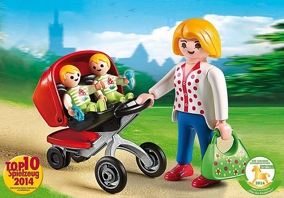5573 Zwillingskinderwagen detail image 1