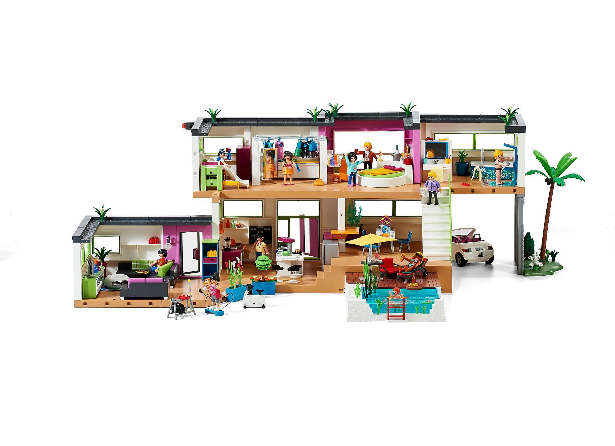 Modern luxury mansion   5574   playmobil® united kingdom