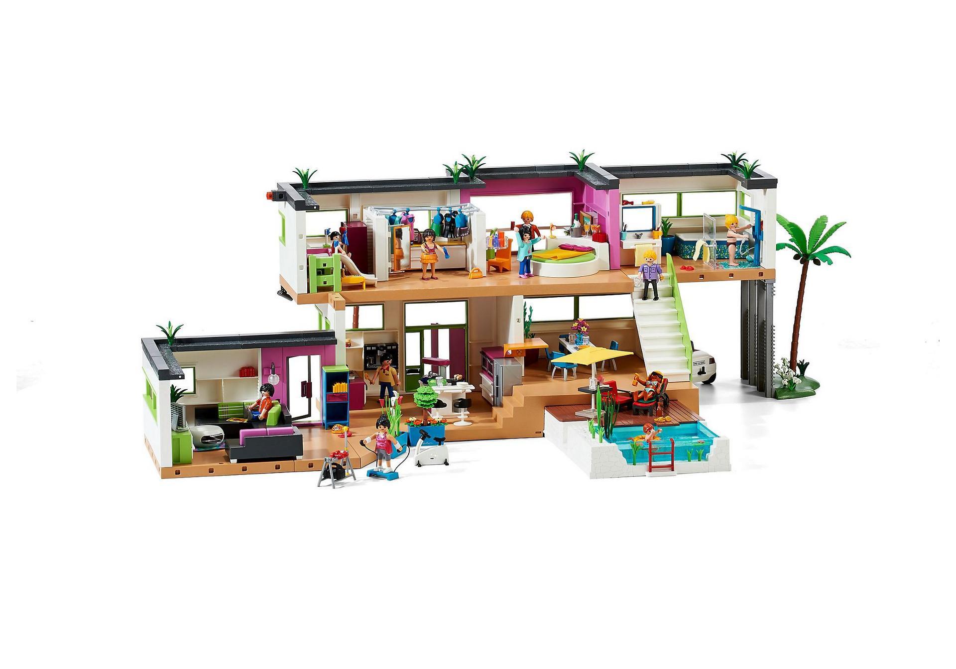 Modern Luxury Mansion - 5574 - PLAYMOBIL® United Kingdom