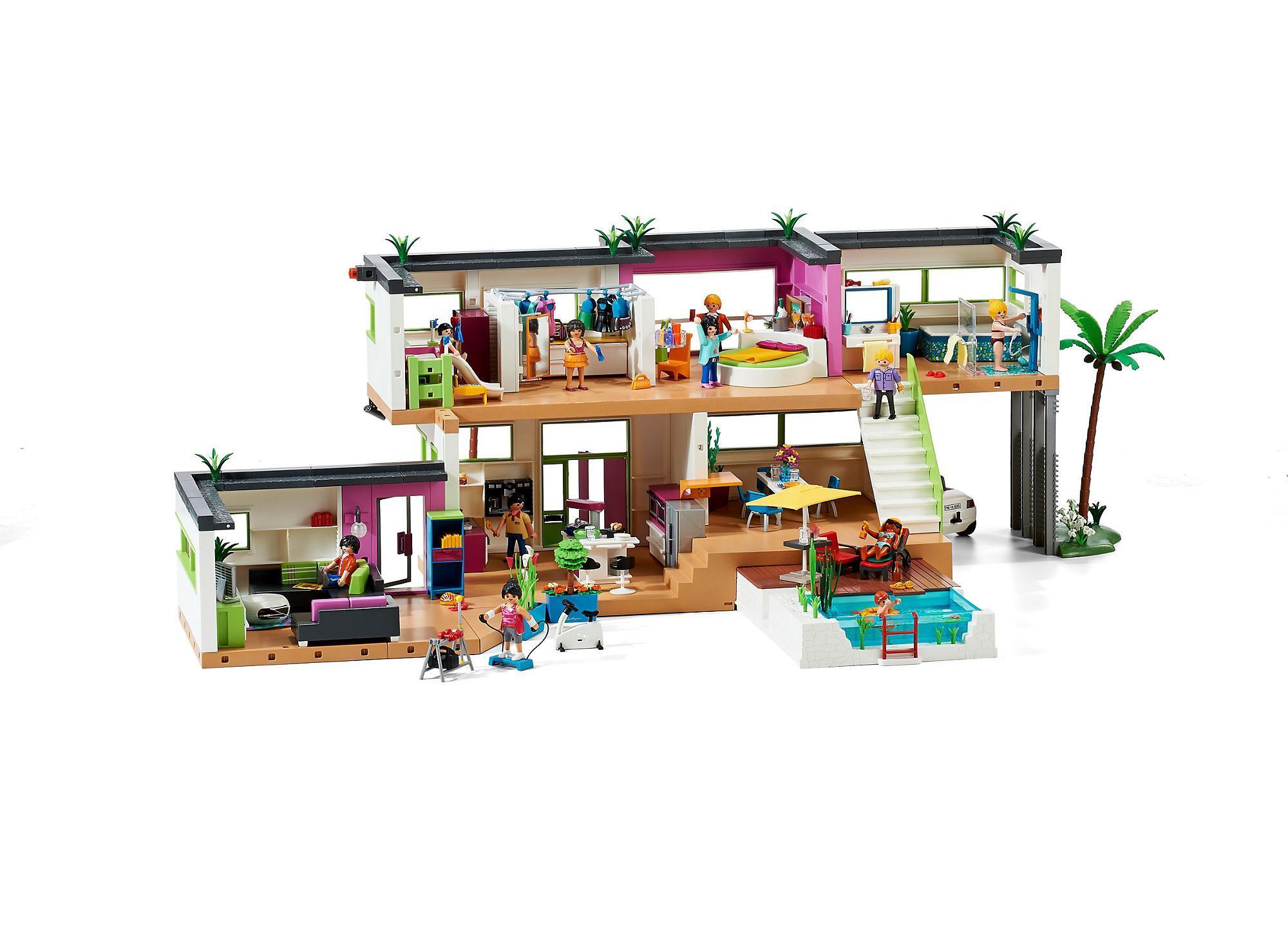 best salon villa moderne play mobil images amazing house. Black Bedroom Furniture Sets. Home Design Ideas