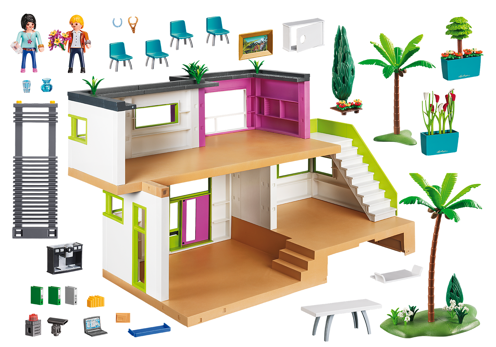 http://media.playmobil.com/i/playmobil/5574_product_box_back/Lussuosa villa arredata