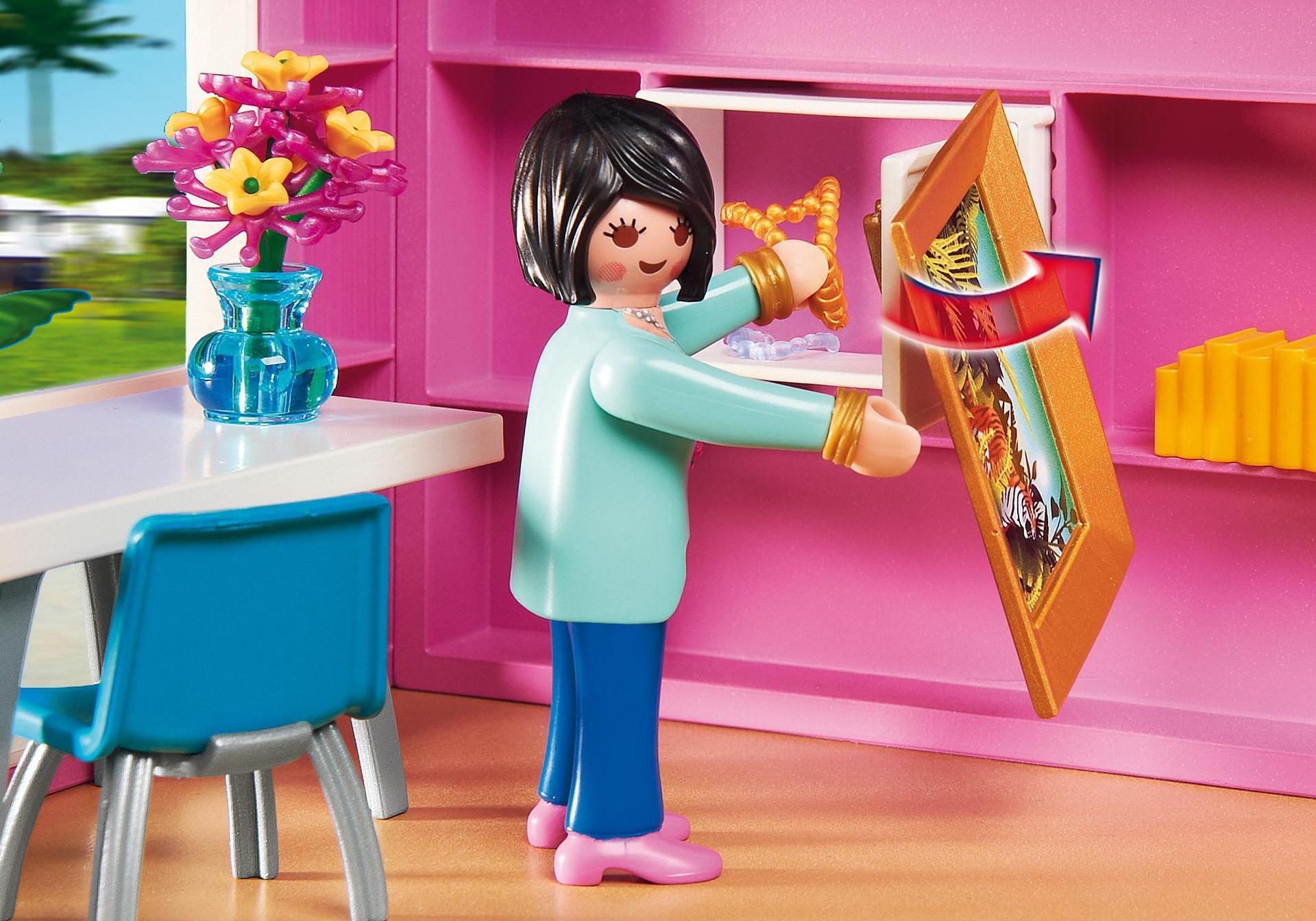 Maison moderne 5574 playmobil france for Agrandissement maison moderne playmobil