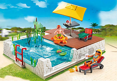 5575 Piscine avec terrasse