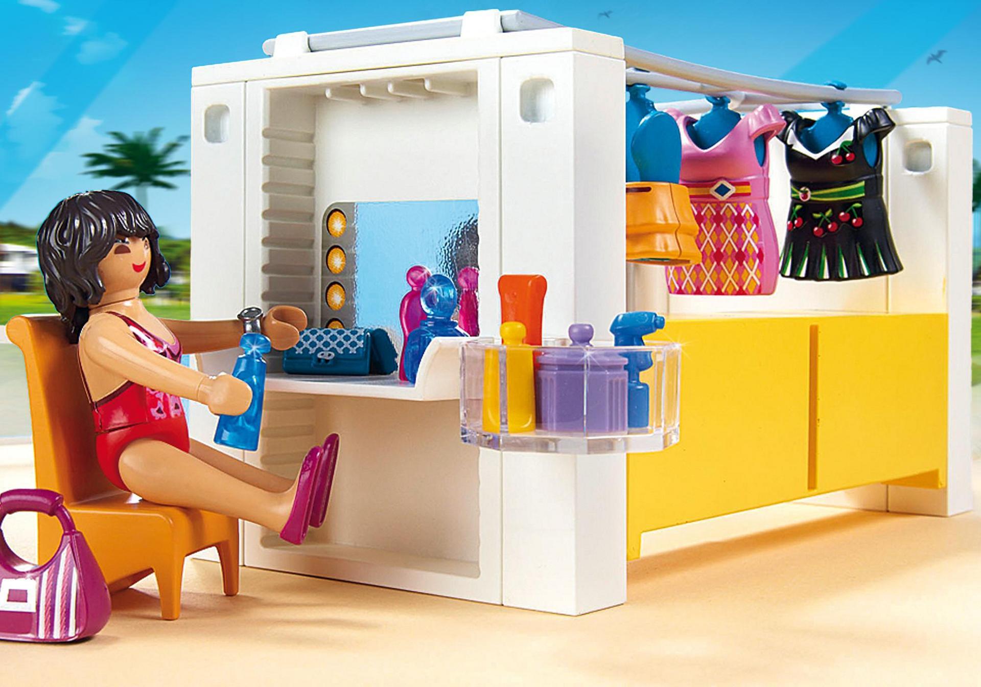 Dressing 5576 playmobil france for Salle de bain villa moderne playmobil