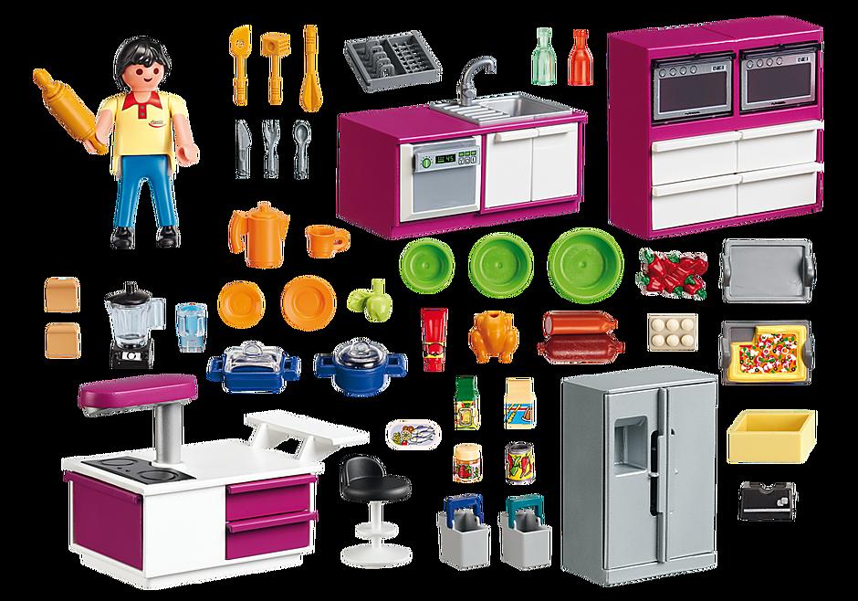 5582 Cucina con isola attrezzata detail image 3