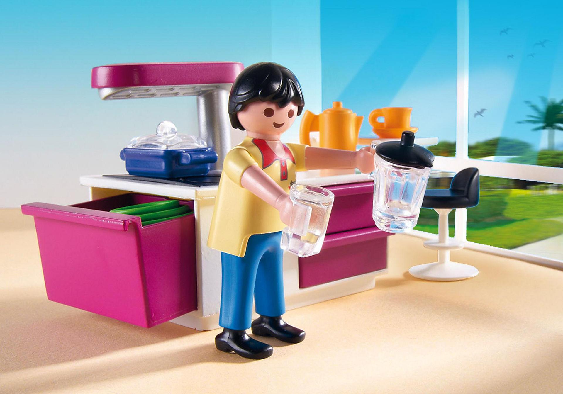 Cuisine Avec Ilot 5582 Playmobil France