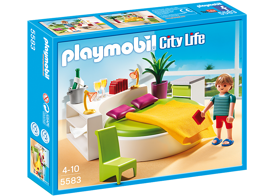 http://media.playmobil.com/i/playmobil/5583_product_box_front/Moderna camera da letto