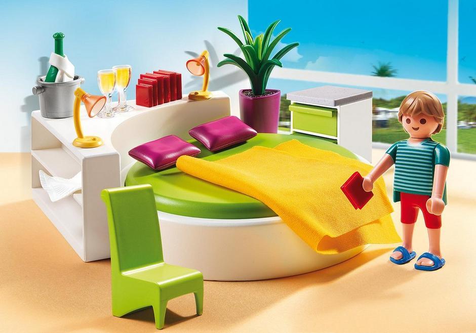 Slaapkamer met loungebed - 5583 - PLAYMOBIL® België