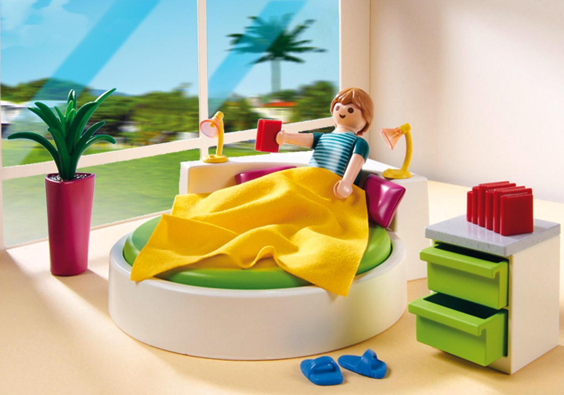 Slaapkamer met loungebed - 5583 - PLAYMOBIL® Nederland