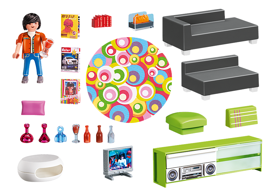 http://media.playmobil.com/i/playmobil/5584_product_box_back/Salone con mobili di design