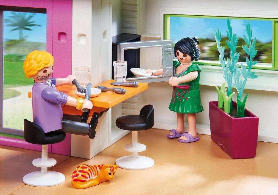 Maison Moderne Playmobil Pas Cher