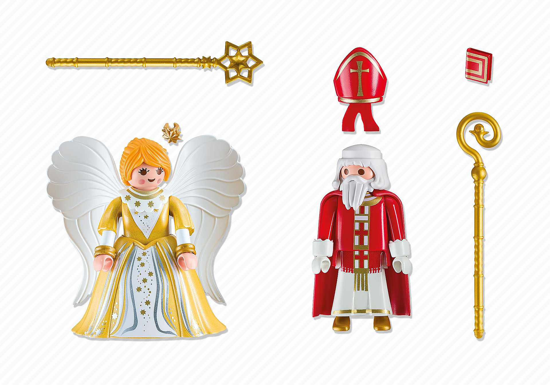 5592 St. Nicholas and Christmas Angel zoom image3