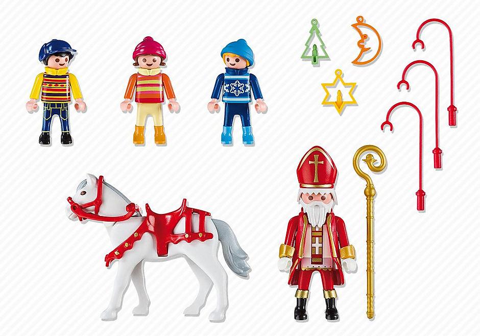 5593 Saint Nicolas avec enfants detail image 3