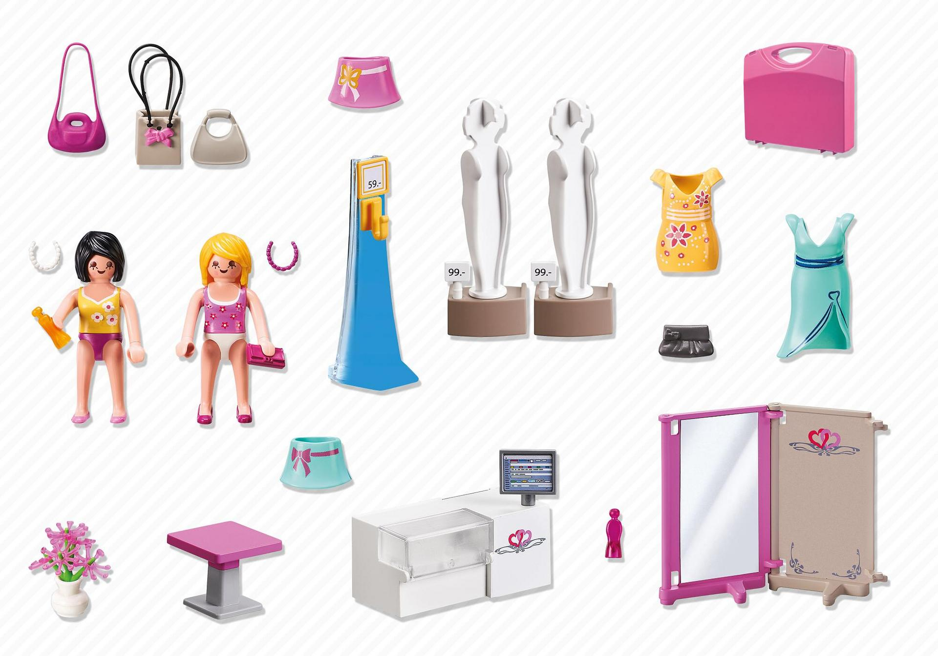 valisette shopping 5611 playmobil france. Black Bedroom Furniture Sets. Home Design Ideas