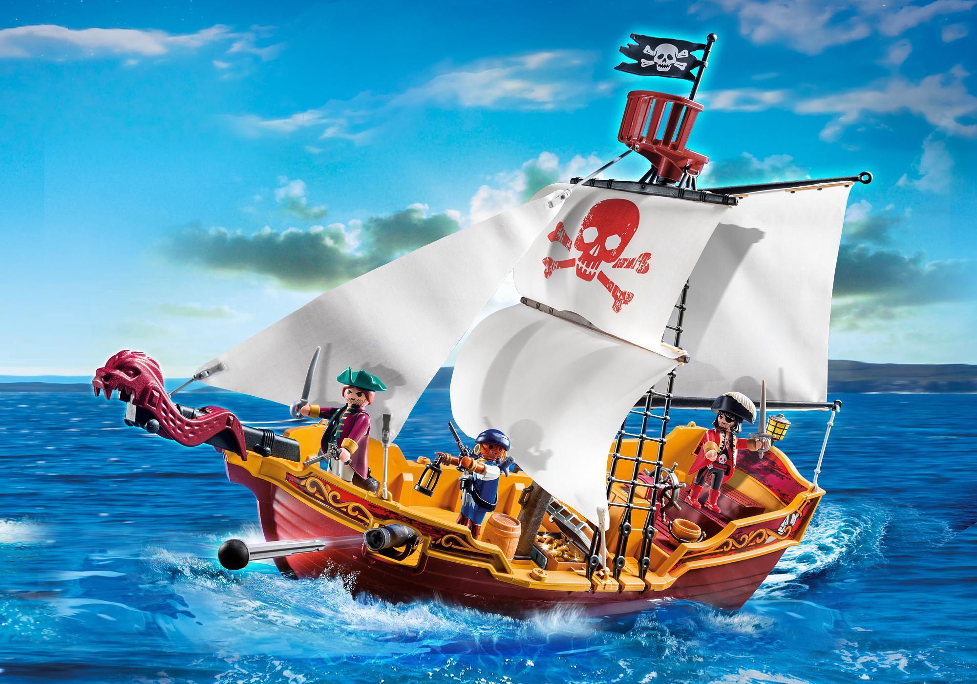 red serpent pirate ship 5618 playmobil usa