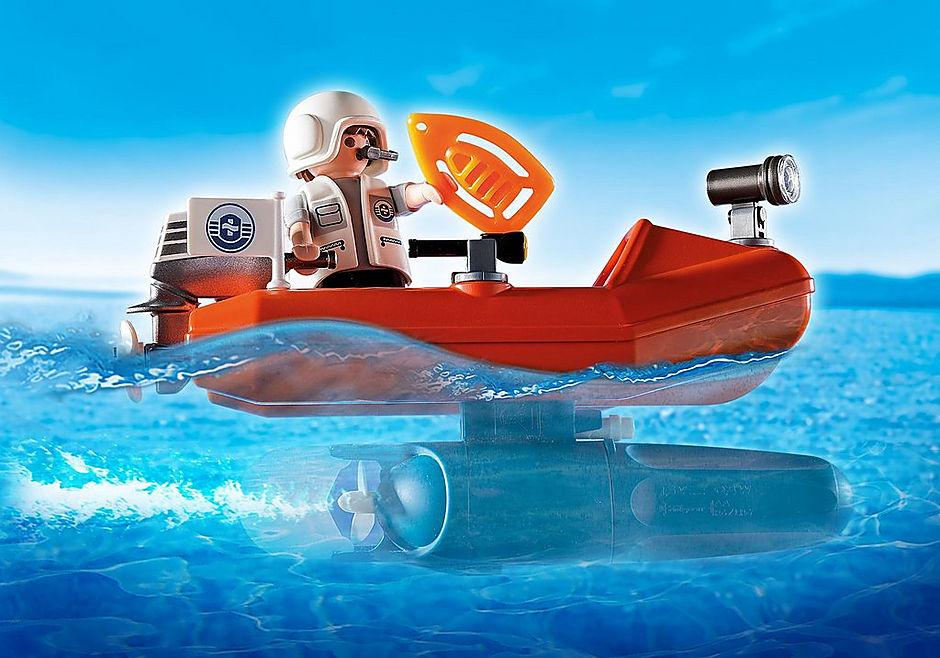 5626 Phare avec bateau de secours  detail image 6