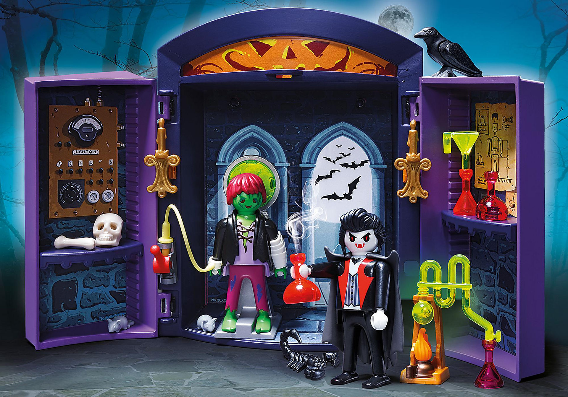 5638 Haunted House Play Box zoom image1