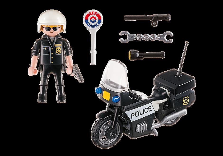 5648 Βαλιτσάκι Αστυνόμος με μοτοσικλέτα detail image 3