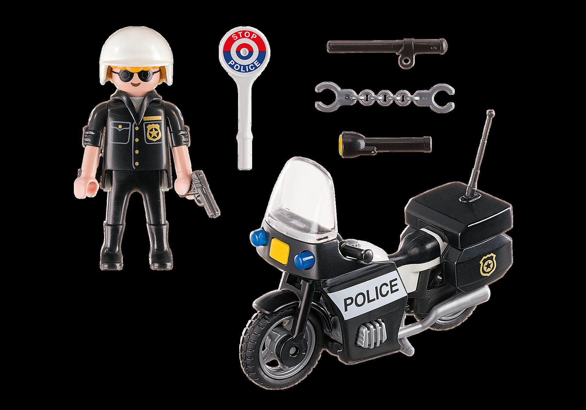 5648 Βαλιτσάκι Αστυνόμος με μοτοσικλέτα zoom image3