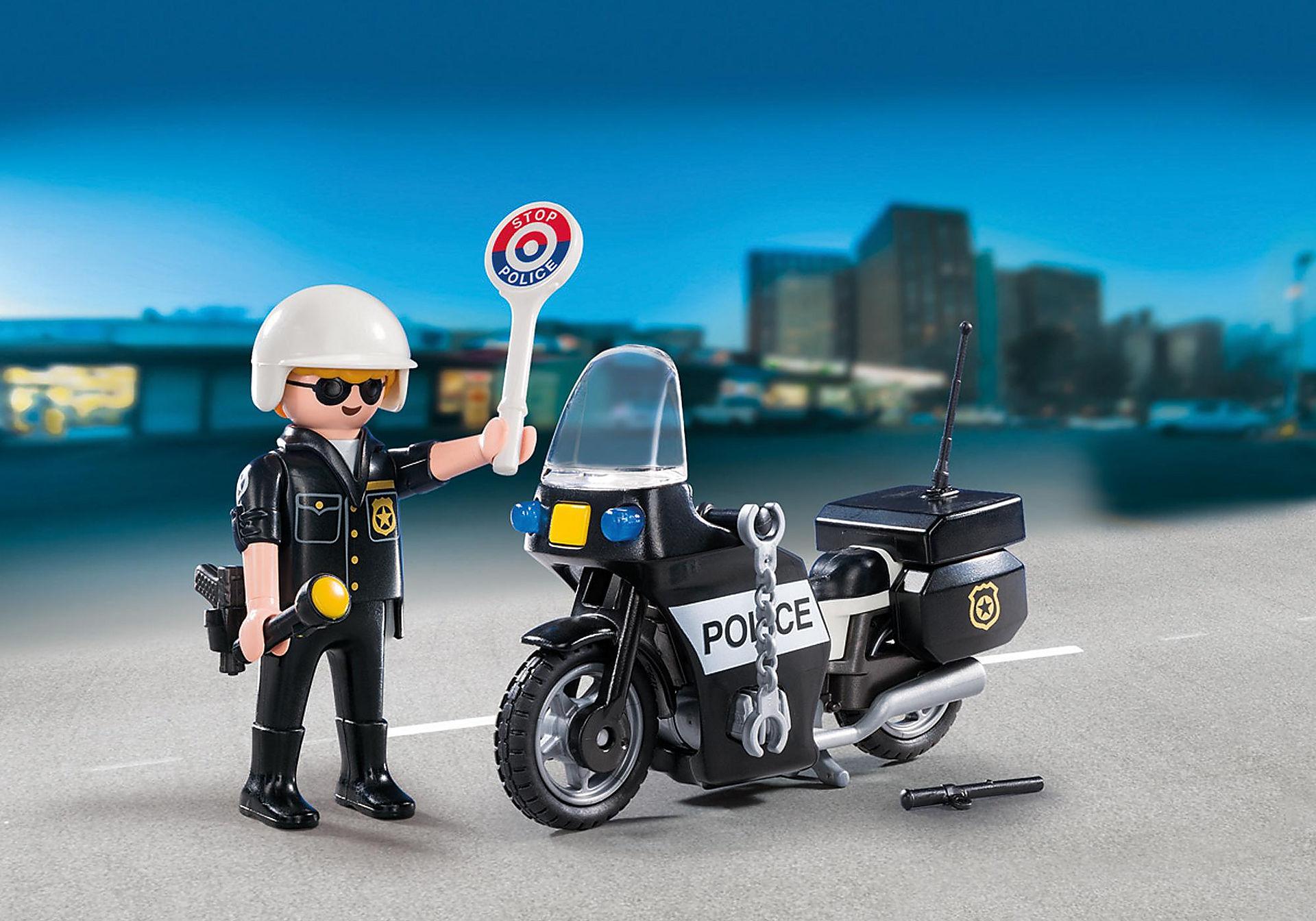 5648 Βαλιτσάκι Αστυνόμος με μοτοσικλέτα zoom image1