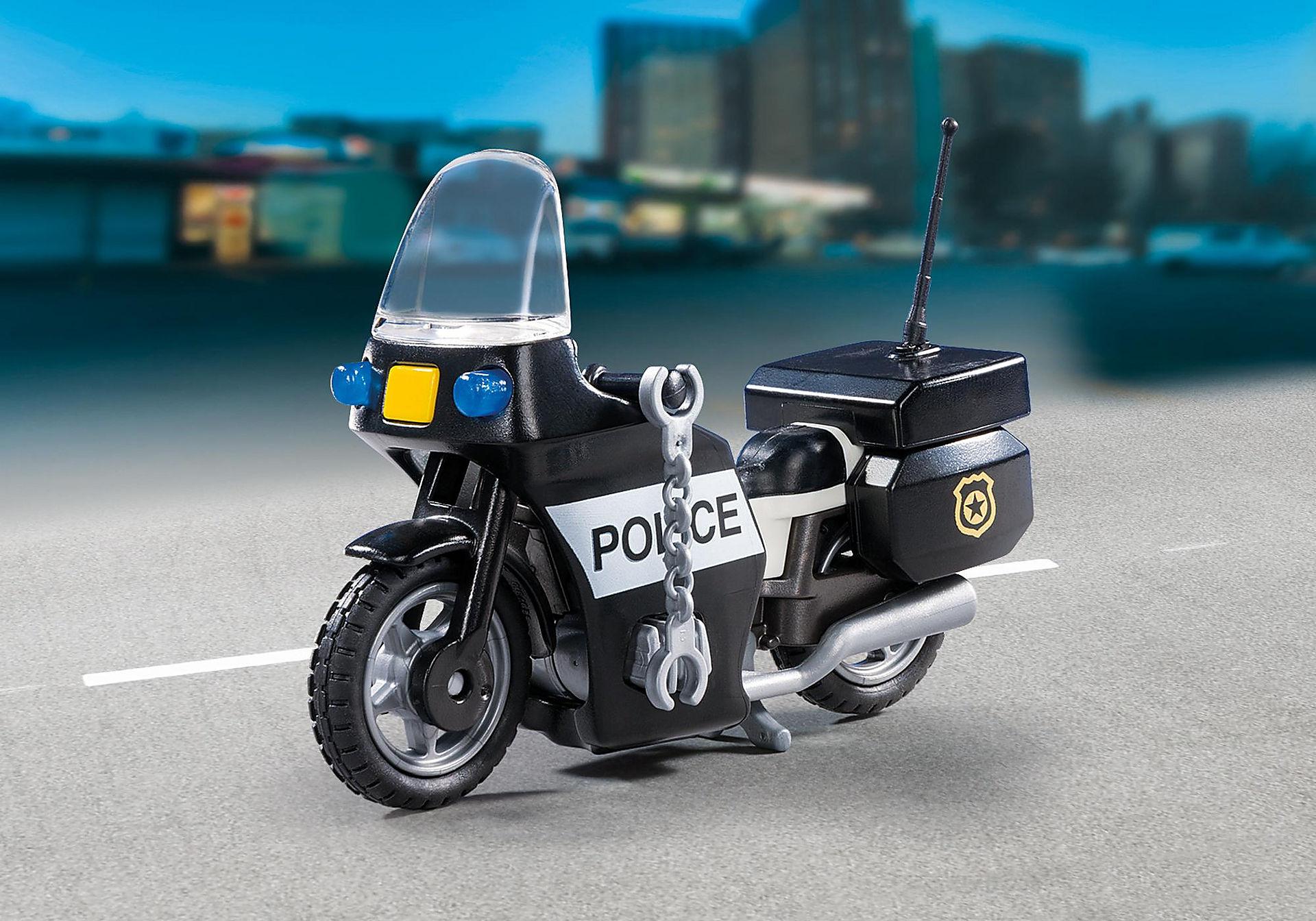 5648 Βαλιτσάκι Αστυνόμος με μοτοσικλέτα zoom image4