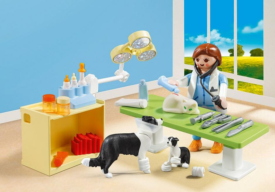 Vet Visit Carry Case 5653 Playmobil Usa