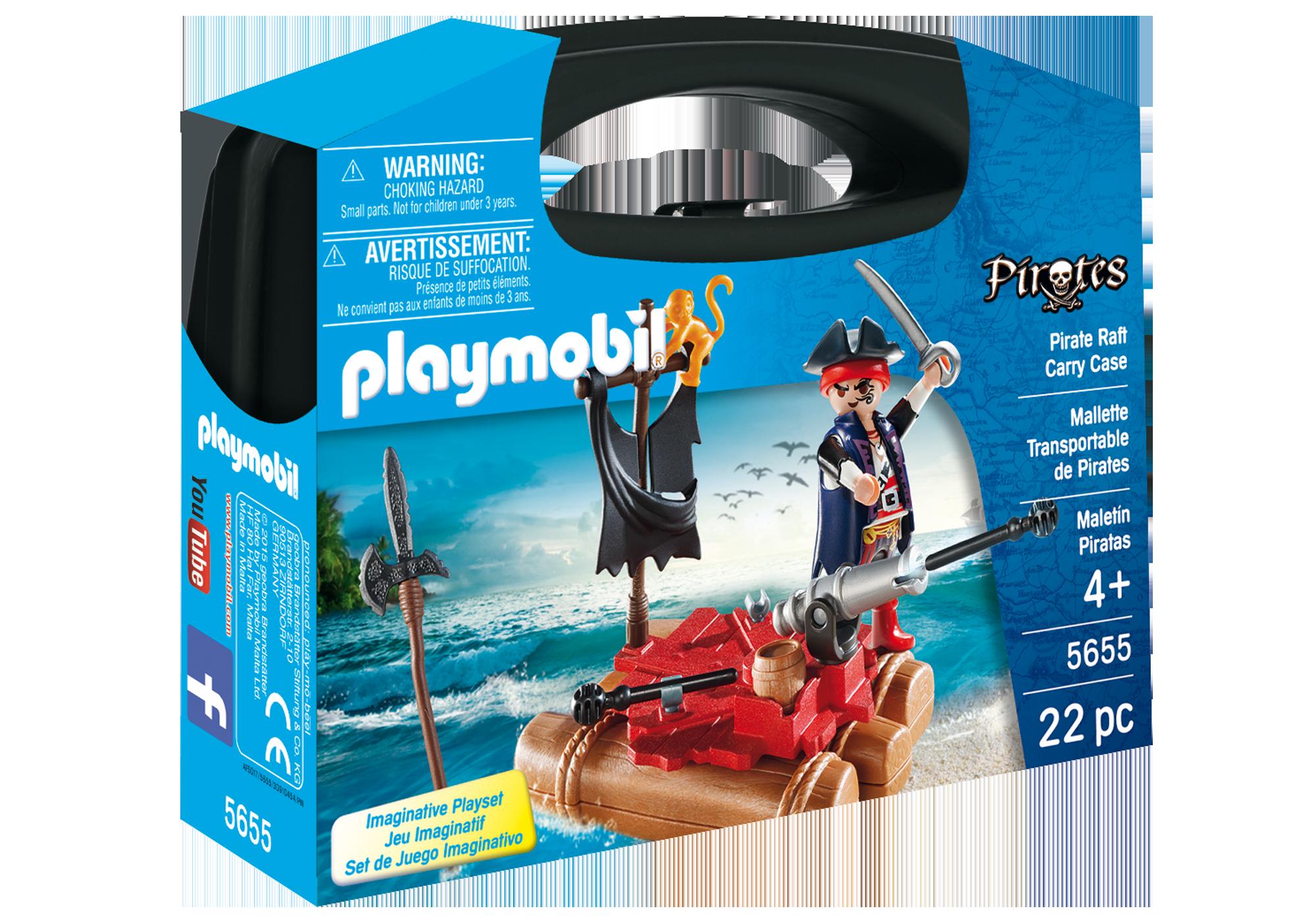 http://media.playmobil.com/i/playmobil/5655_product_box_front/Βαλιτσάκι Πειρατής με σχεδία