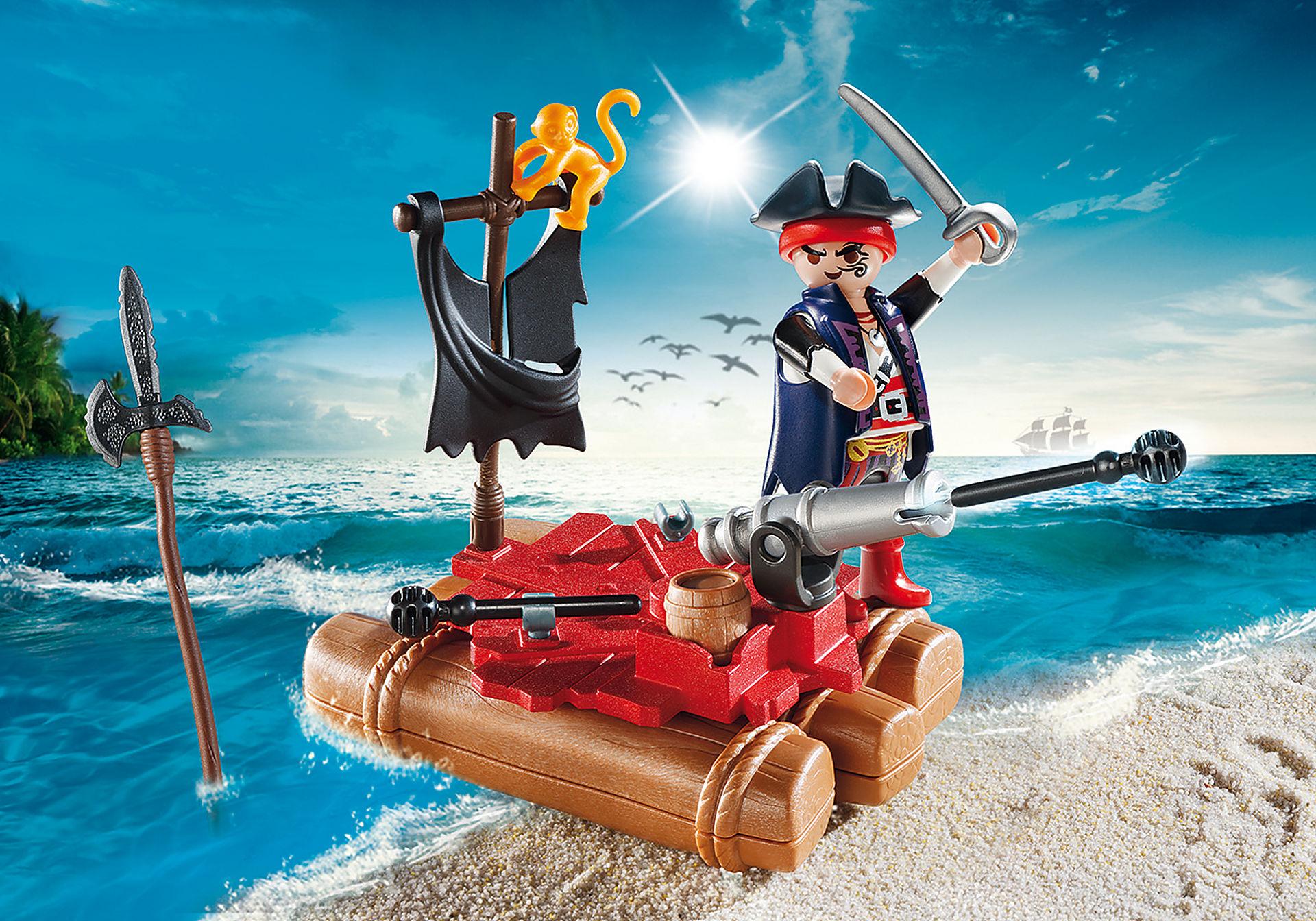 http://media.playmobil.com/i/playmobil/5655_product_detail/Βαλιτσάκι Πειρατής με σχεδία