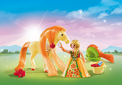 5656 Maxi Βαλιτσάκι Πριγκίπισσα με άλογο