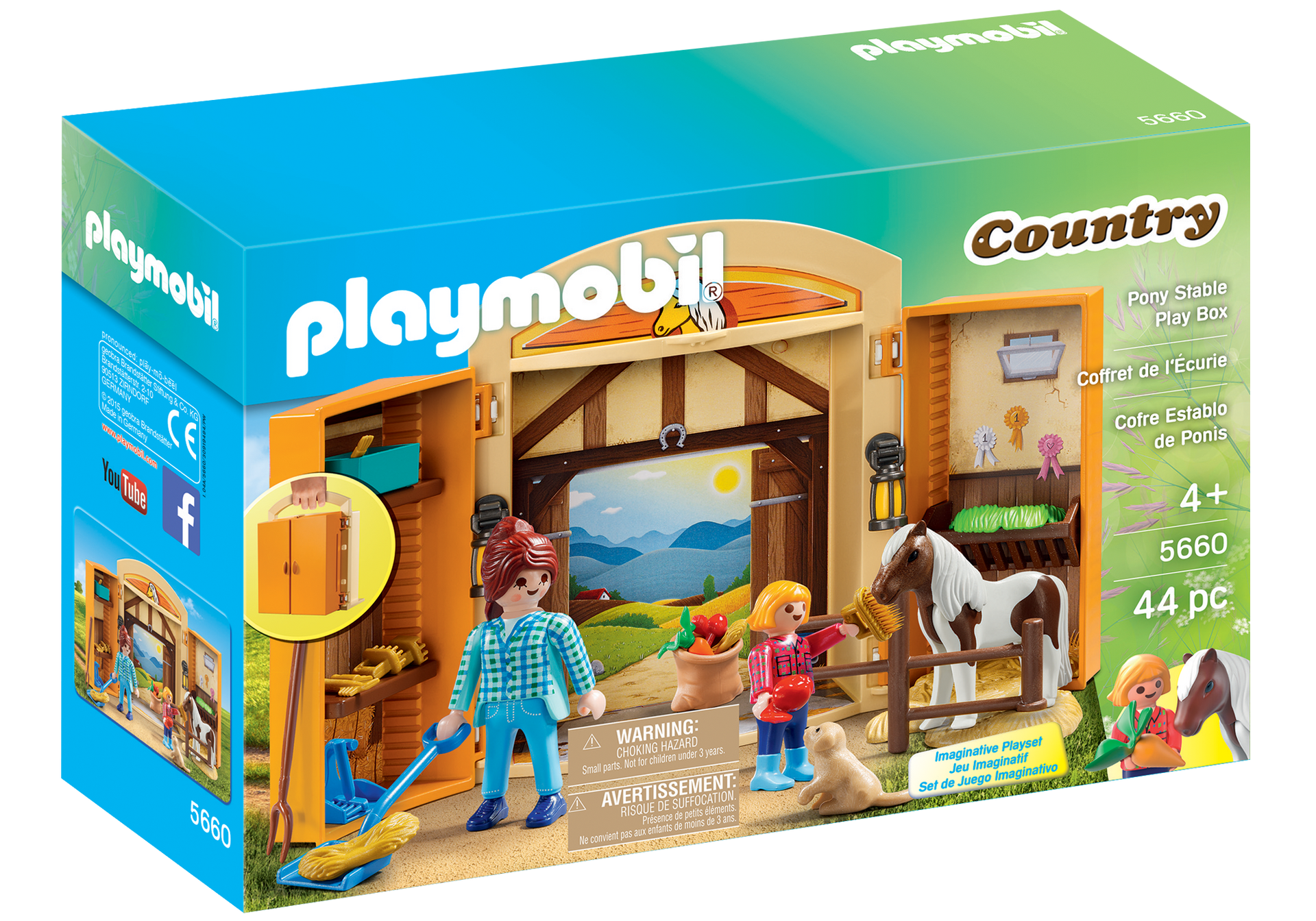 playmobil horse stable instructions