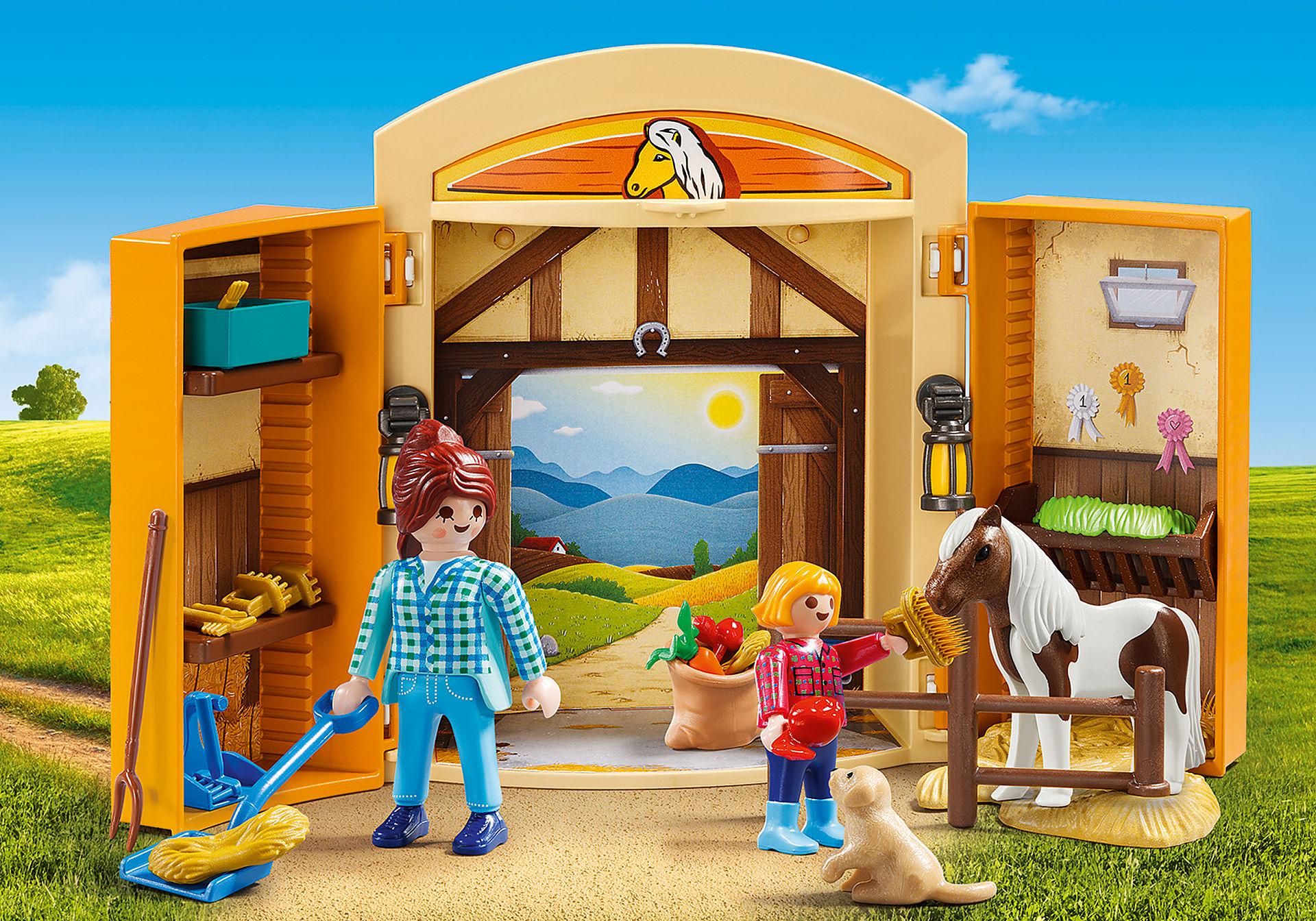 5660 Play Box Horses zoom image1