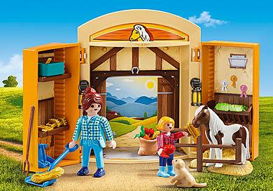 5660 Play Box Horses