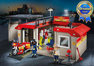 5663 Take Along Fire Station
