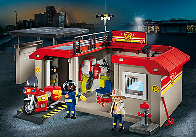 5663 Take Along Fire Station