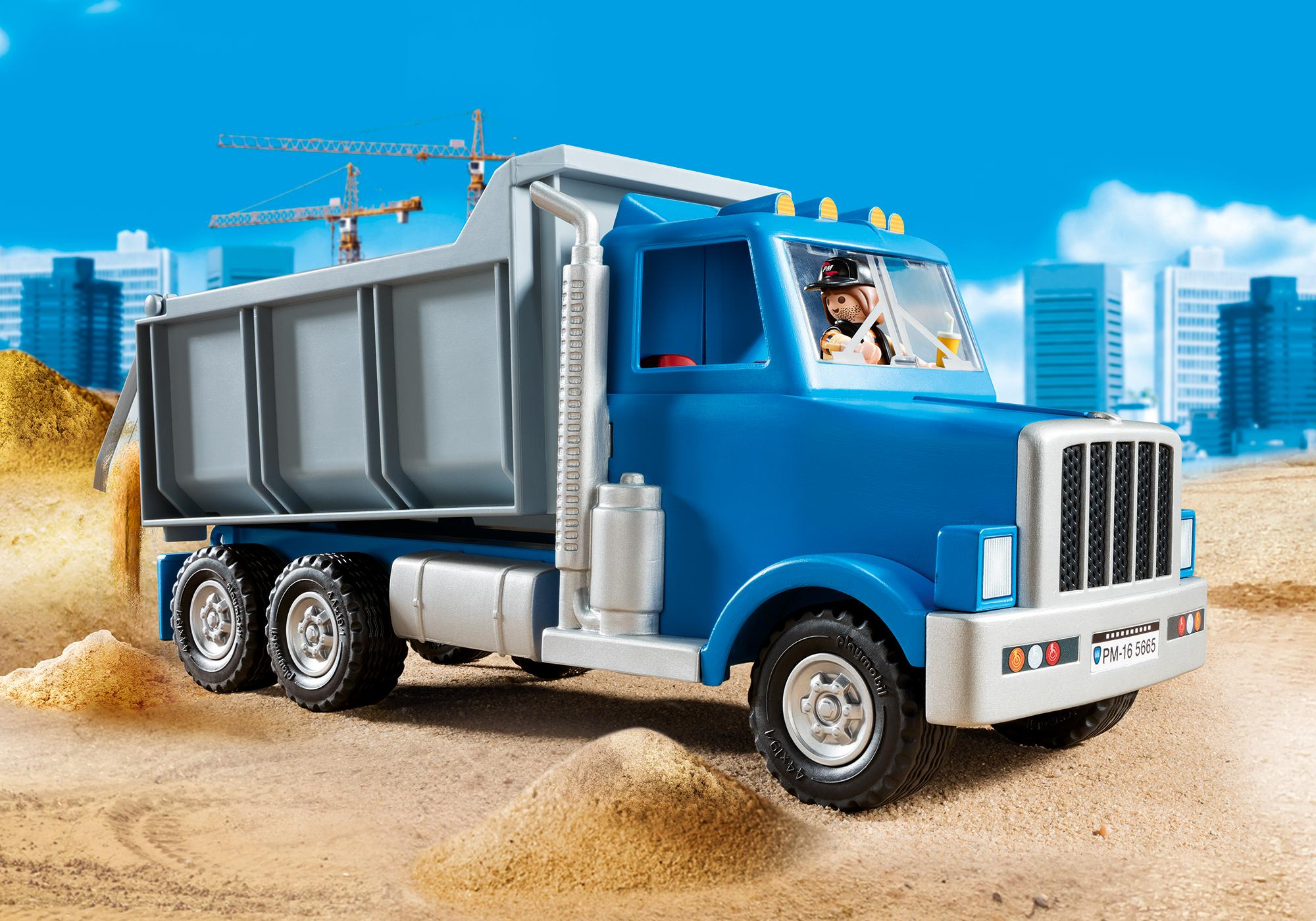 dump truck 5665 playmobil usa