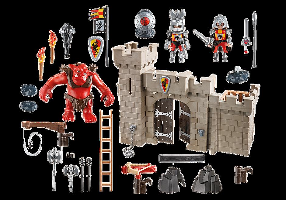 5670 Citadelle des chevaliers avec troll detail image 3
