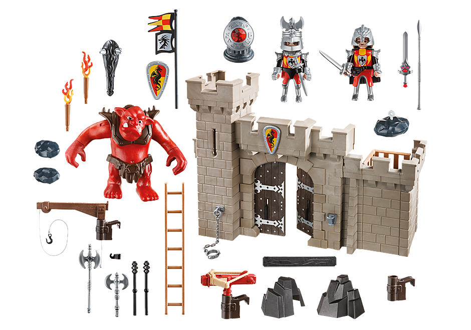 5670 Knights Castle Club Set detail image 3
