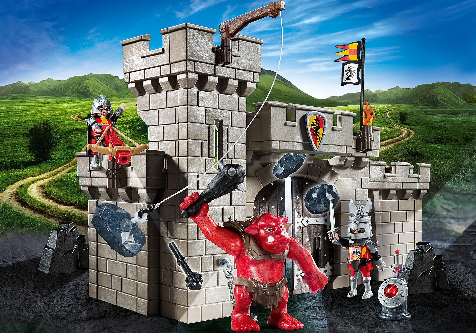 5670 Citadelle des chevaliers avec troll zoom image1