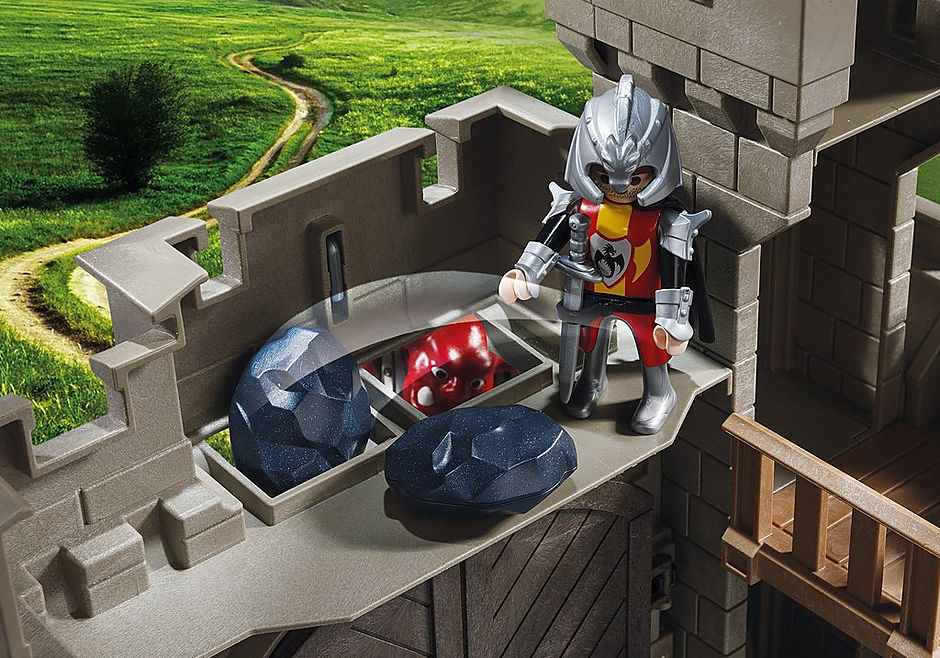 5670 Citadelle des chevaliers avec troll detail image 4