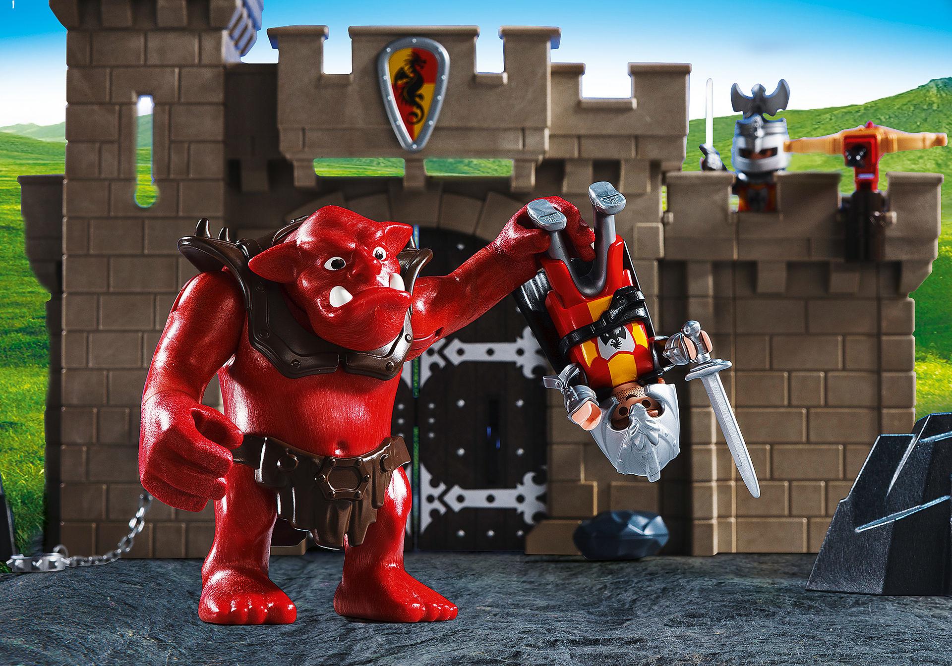 5670 Citadelle des chevaliers avec troll zoom image5