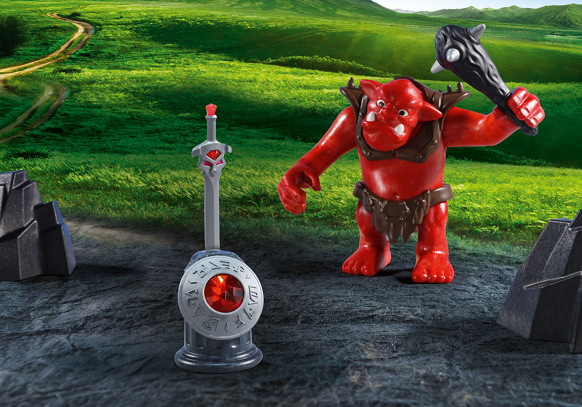 5670 Citadelle des chevaliers avec troll zoom image6