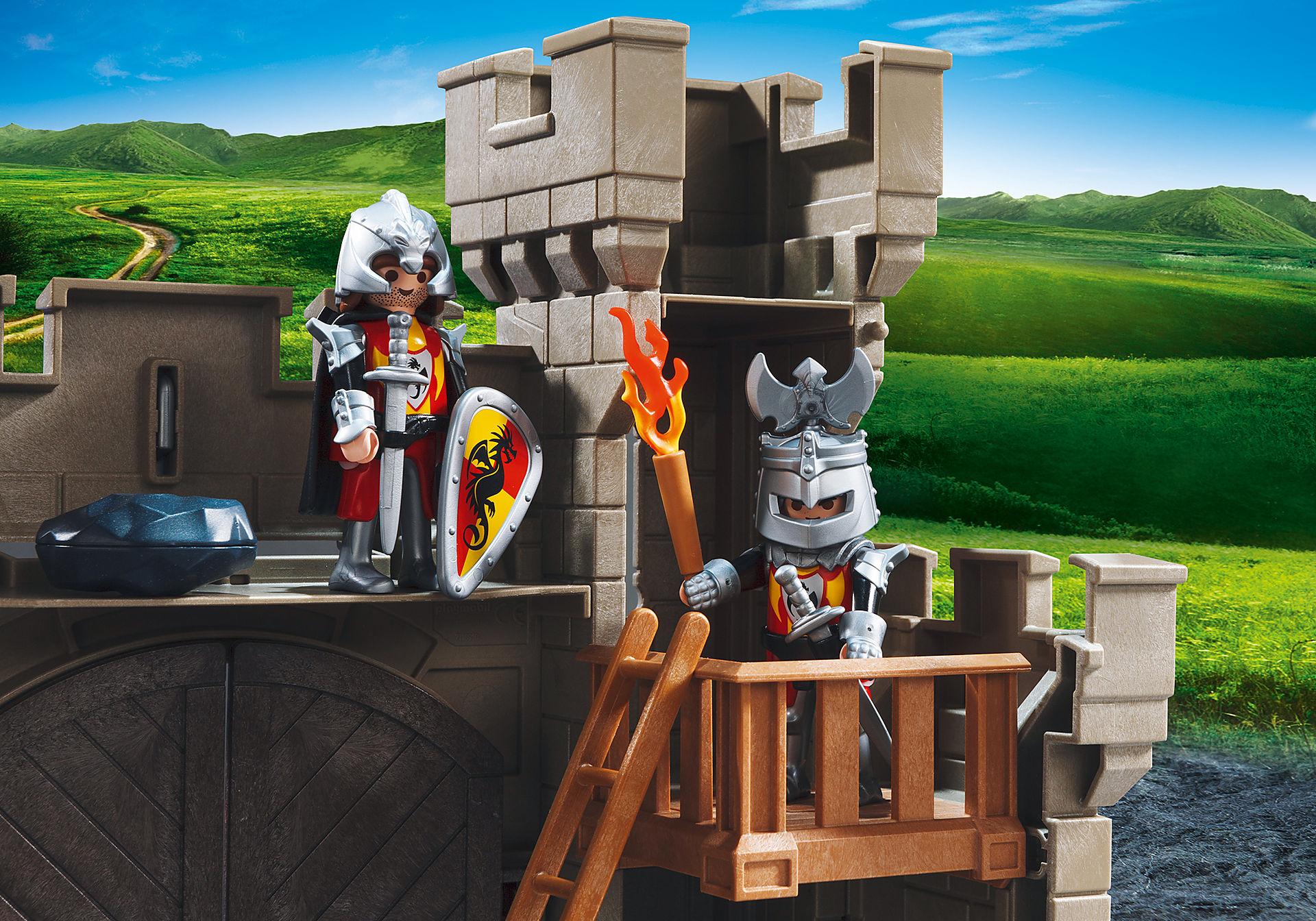 5670 Citadelle des chevaliers avec troll zoom image7