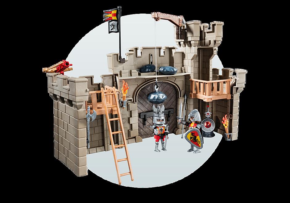 5670 Citadelle des chevaliers avec troll detail image 8